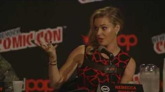 NYCC Rebecca Romijn - Villain The Librarians TNT