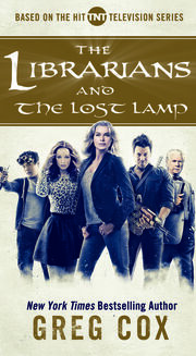 Wikia Lib - Librarians and the Lost Lamp cover