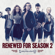 The Librarians renewed for season 2