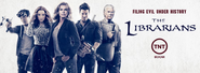 The Librarians filing evil under history poster