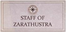 Staff of Zarathustra