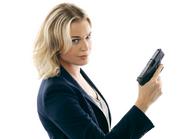Eve Baird white background season 1 promotional