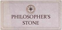 Philosophers Stone Card