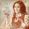 Cassandra joyous holiday poster.png