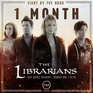 The Librarians one month poster