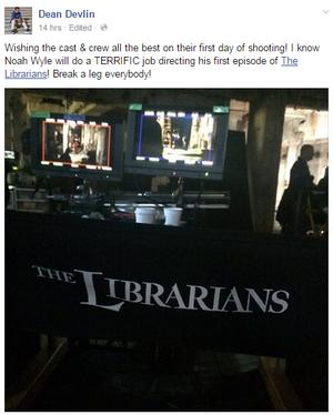 The Librarians season 2 has begun filming