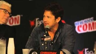 NYCC Christian Kane - Aliases The Librarians TNT