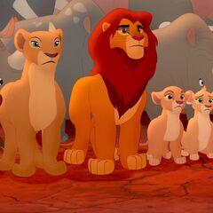 Семья Симбы и львята прайда в «<a href=