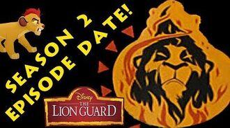 LION GUARD - SEASON 2 DATES!