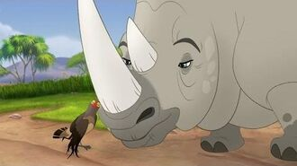 Lion Guard Tickbirds and Rhinos Full Song Ono the Tickbird HD Clip