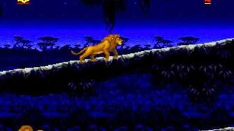 The Lion King Full Playthrough (Sega Genesis)