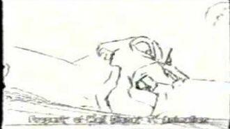Самоубийство Зиры на ранних стадиях мультфильма
