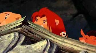 Эпизод из мультфильма Король лев