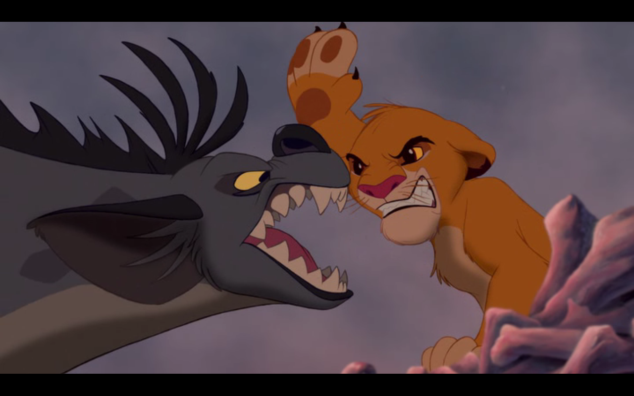 Картинка шакалов из король лев