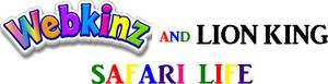 Webkinz and Lion King Safari Life logo