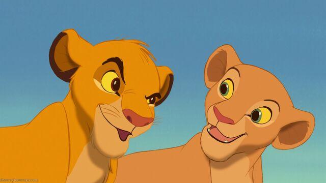 File:Cub Simba and Cub Nala.jpg