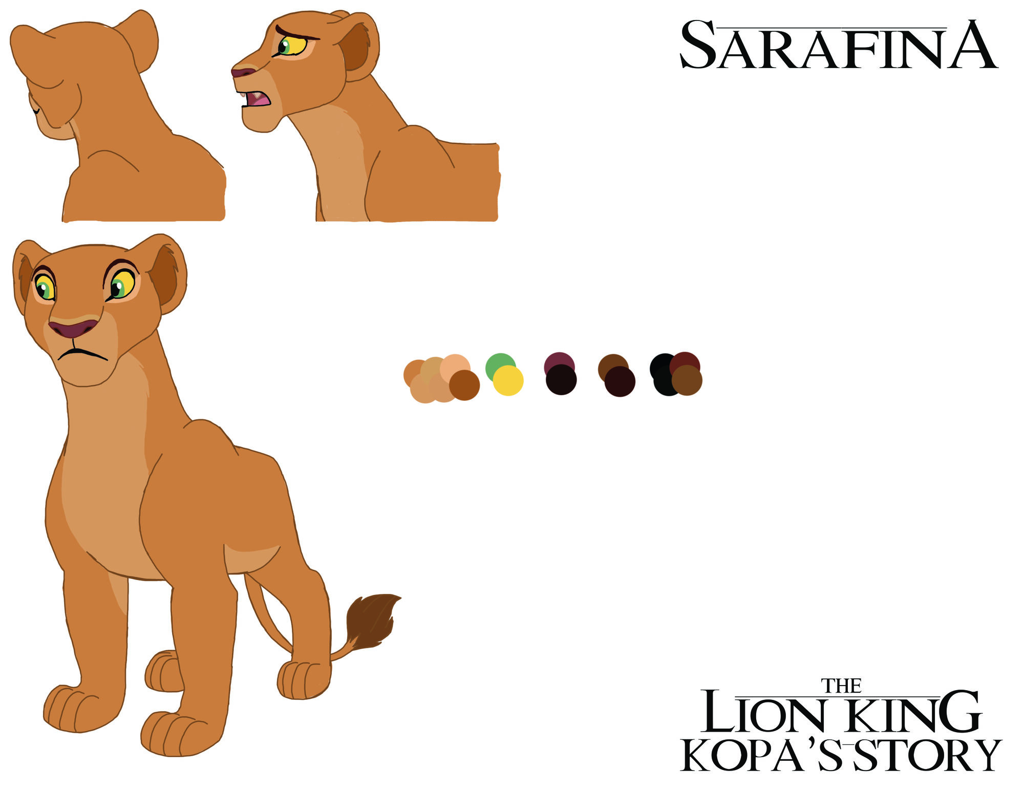 Sarafina (Kopa's Story Comic)   The Lion King Fanon Wiki ... Lion Coloring Page