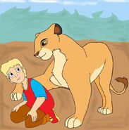 Lion form me and dotty (9)