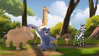 Lion Guard Teke Ruka Teleza! Babysitter Bunga song