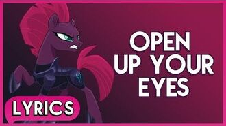 Tempest Shadow - Open Up Your Eyes (Lyrics) - My Little Pony- The Movie