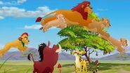 Lion Guard The Twelve Ways of Christmas Song Timon and Pumbaa's Christmas HD Clip