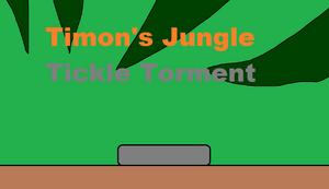 Timon's Jungle Tickle Torment Title