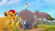Kion and the Guard