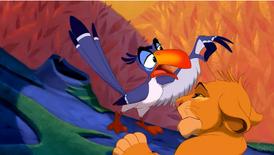 Zazu The Lion King S Timon Amp Pumbaa Wiki Fandom