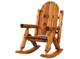 Cabin rocking chair