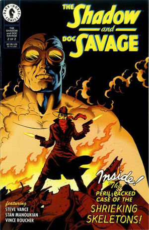 Shadow and Doc Savage Vol 1 2