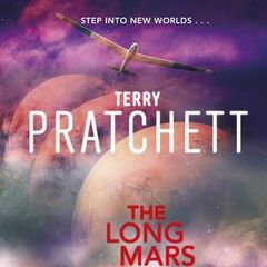 Original cover for <i>The Long Mars</i>