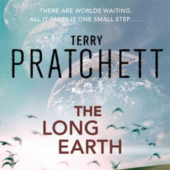 Original cover of <i>The Long Earth</i>