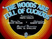Thewoodsarefullofcuckoos