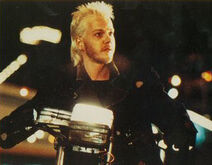 David on his bike
