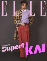 SuperM x ELLE Korea October Issue Kai 1