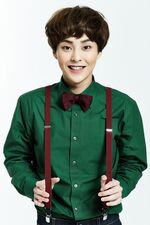 Xiumin Miracles In December Promotional Photo