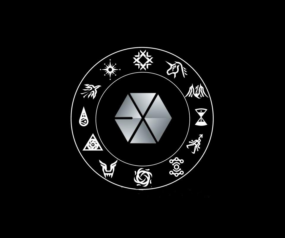 Image Exo Symbols Wallpaper Black Version By Twosquids D5o5nuhg