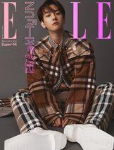 SuperM x ELLE Korea October Issue Baekhyun 1