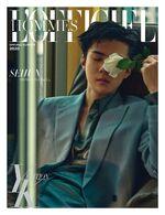 Sehun L'officiel Hommes (April 2020) 3