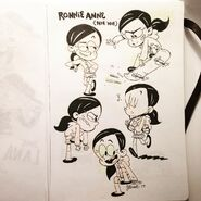 Ronnie Anne Jordan Rosato sketch