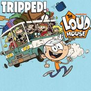 Logo 1x1 gambar kecil Tripped! - The Loud House