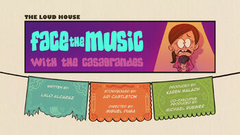 The loud house Temporada 04 Capitulo 04A - Face the Music with the Casagrandes