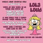 Lola Q&A
