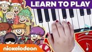 Loud House Holiday Piano Lessons + BONUS School of Rock Jingle Bells MusicMonday