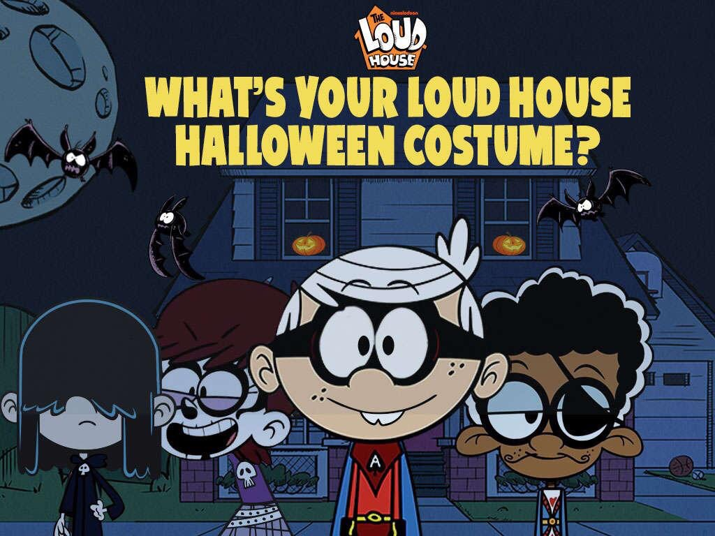 whats your loud house halloween costume