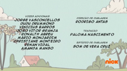 Creditos de doblaje The Loud House PTBR (S121-2)