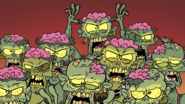 S4E11B Zombie horde