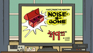 S1E06A Noise B Gone on TV