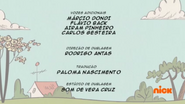 Creditos de doblaje The Loud House PTBR (S112-2)