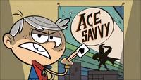 S1E10B Linc dengan poster Ace Savvy